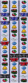 バイオハザード6のリール配列